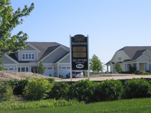 Ryan Homes Model Site at Heritage Shores