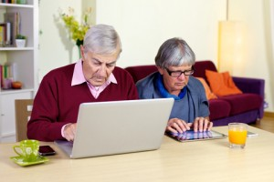 http://www.dreamstime.com/royalty-free-stock-images-senior-couple-love-technology-tablet-computer-image38001529