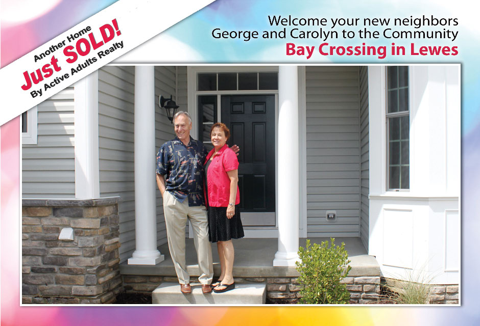 Welcome George & Carolyn