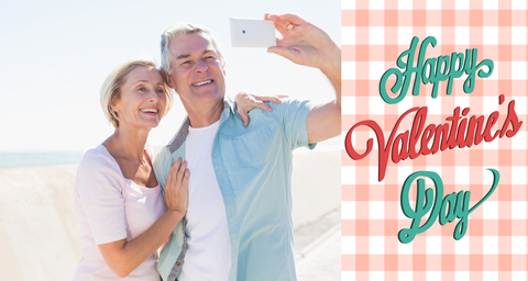 http://www.dreamstime.com/royalty-free-stock-photos-composite-image-happy-senior-couple-posing-selfie-against-valentines-day-image49247928
