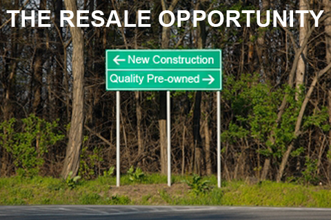 Home Resales VS New Construction