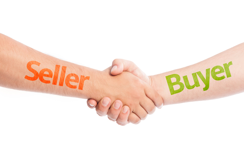 Buyer-Seller shake hands