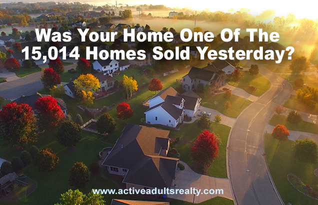15,014 Homes Sold