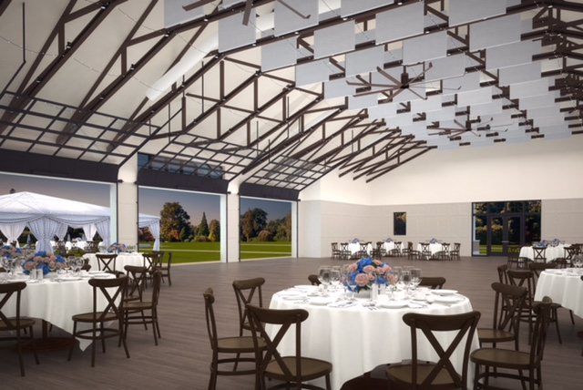 Bay Forest Clubhouse rendering in Coastal Delaware
