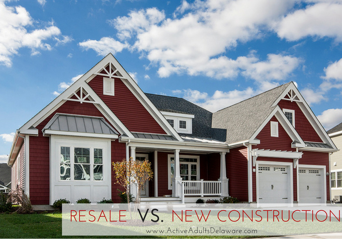 Buying new construction or buying a resale home Delaware