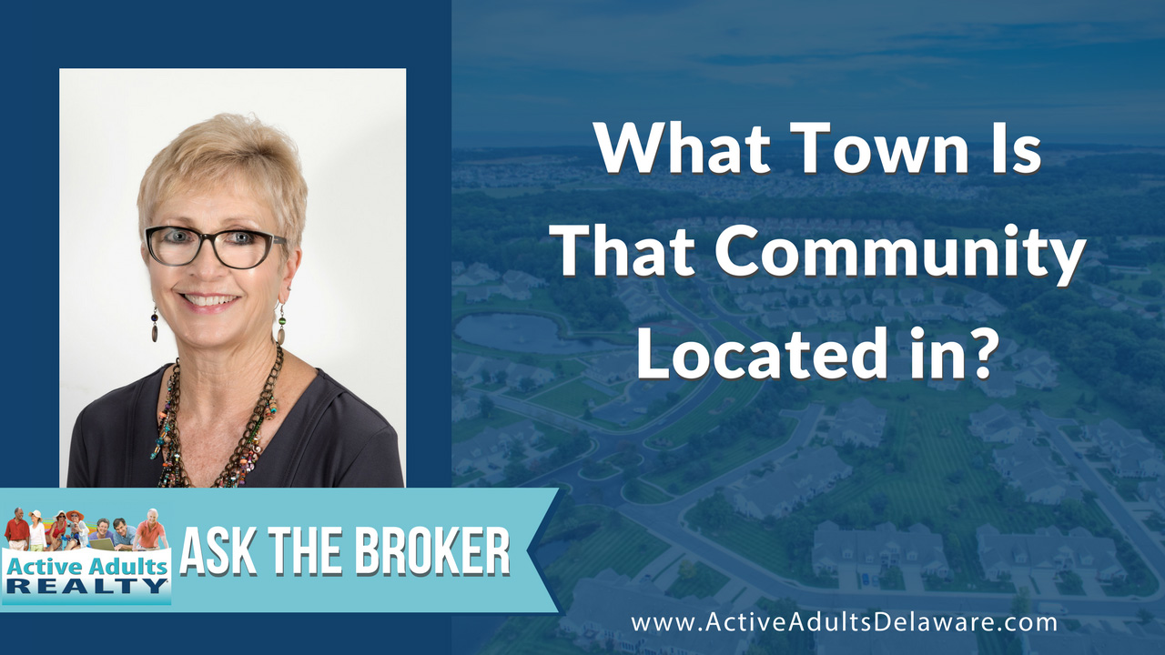 What Town Is That Delaware Community Located in?