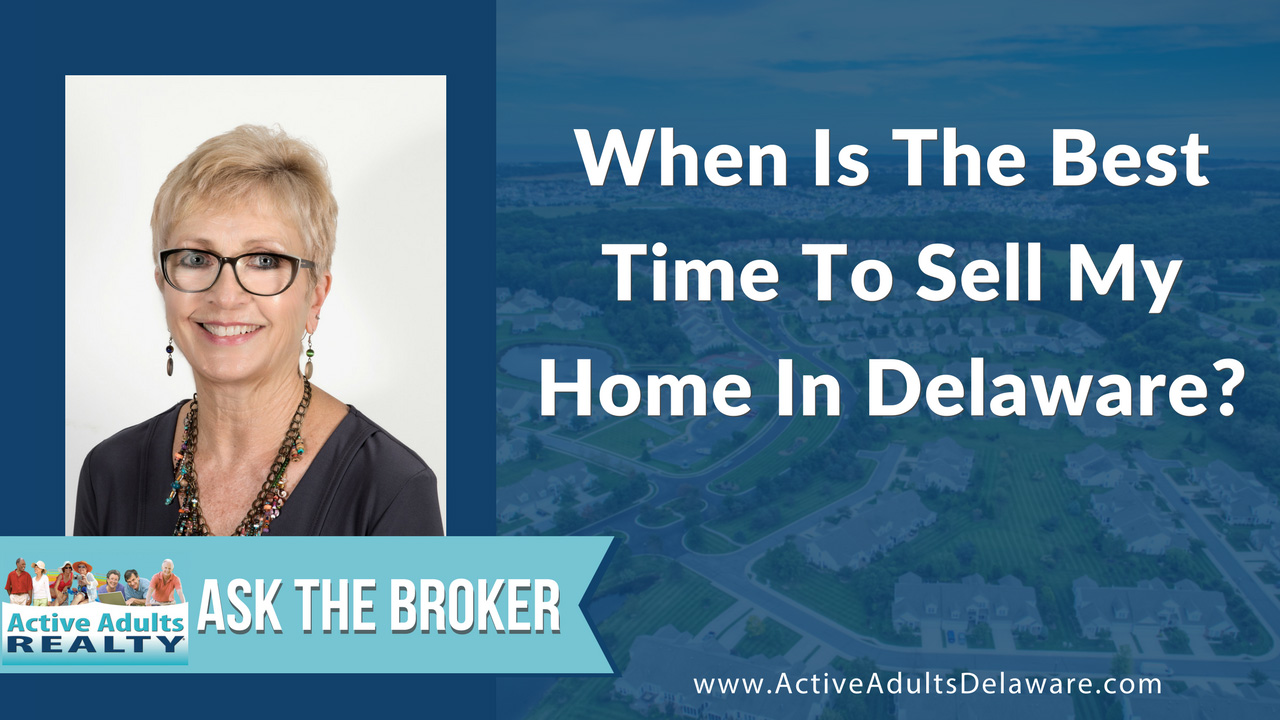 when is the best time to sell your home in Delaware?