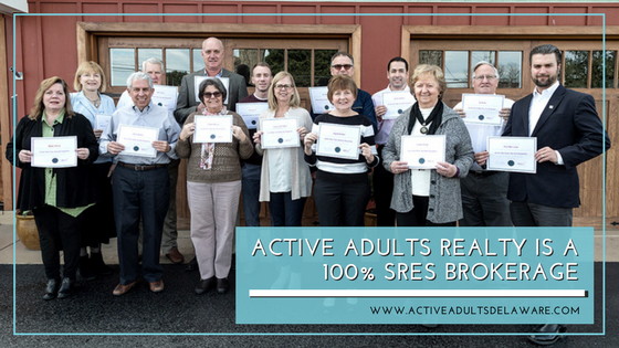 Active Adults Realty Agents earn the Seniors Real Estate Specialist Designation