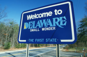 Enjoy the lower Delaware Taxes