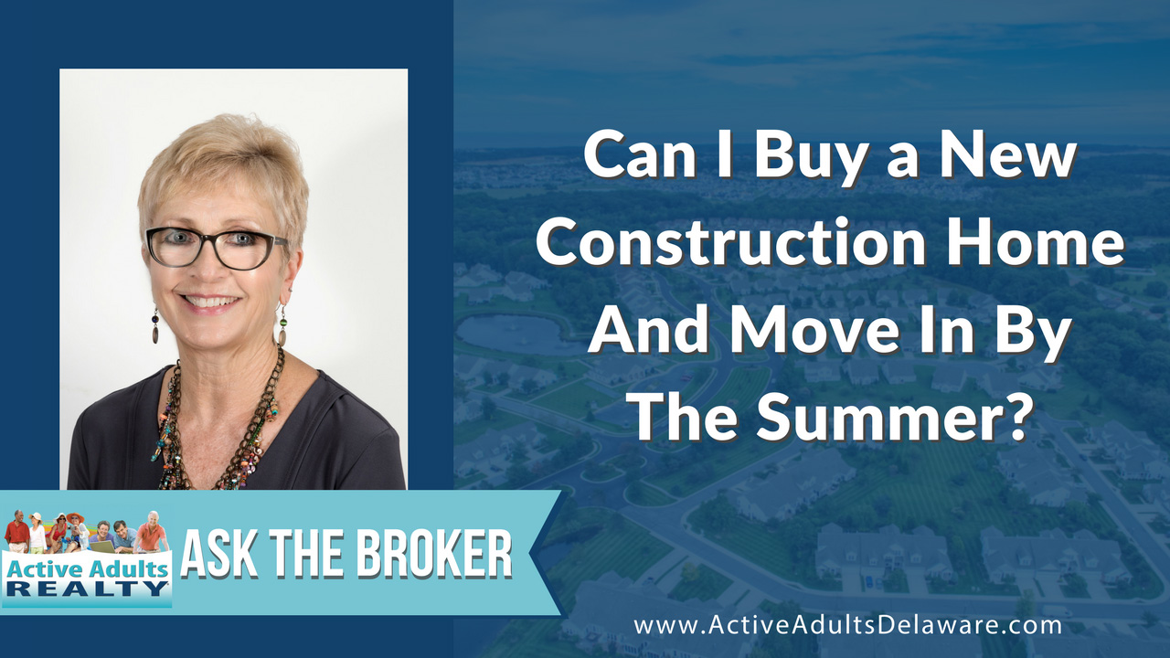 Can I buy a new construction home and move in by summer?