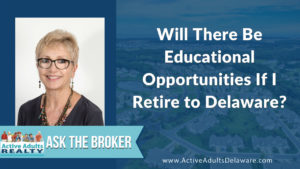 Educational Opportunities for Retirees in Delaware
