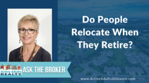 Do people relocate at retirement? - where are people moving to?
