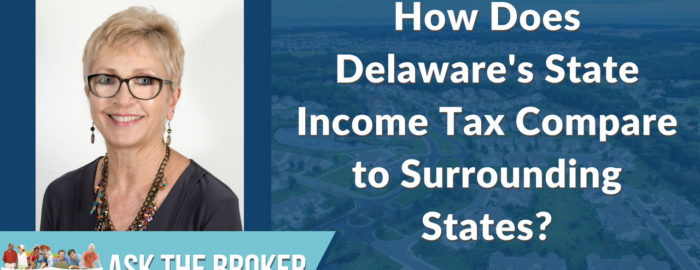 how does Delawares state income tax compare to neighboring states