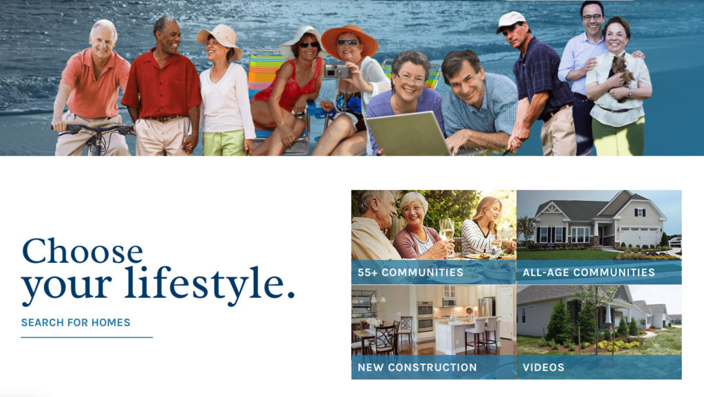 Choose your Lifestyle - Find the right age-targeted community