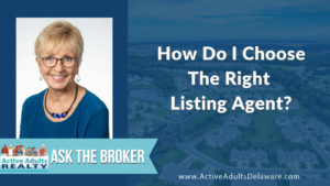 How do I choose the right listing agent?