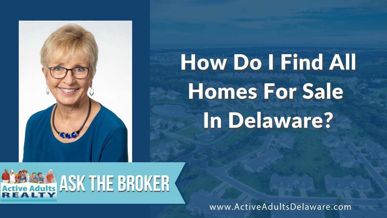 how do I find all homes for sale in Delaware