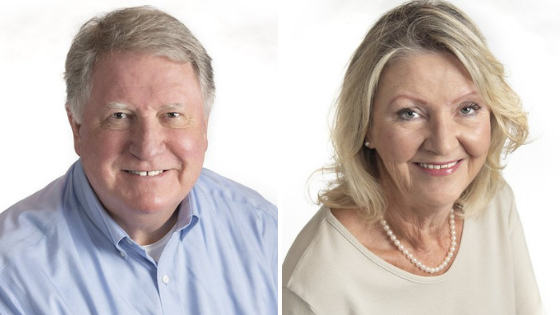 Welcome Bill and Jillian who recently obtained their SRES designation