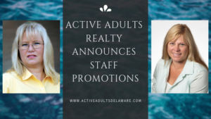 Staff Promotions for Judy Robinson and Audrey Hammond