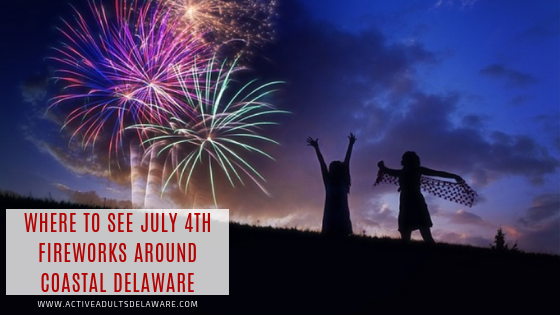 Where to see July 4th fireworks around Delaware