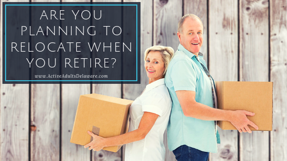 Are you relocating after retirement?