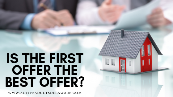is the home first offer the best offer